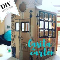 Nuestra casita (de cartón) DIY