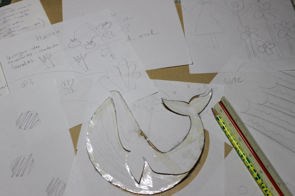 Quiet Book mamá extraterrestre libro actividades tela texturas bebé toddler brainstorming ideas planificacion