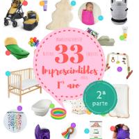 Nuestros 33 imprescindibles para el primer año - 2